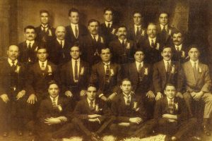 First members of the Societa Mutuo Soccorso Isole Eolie -1925