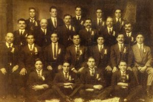 1925 First Members of the Societa Mutuo Soccorso Isole Eolie Melbourne