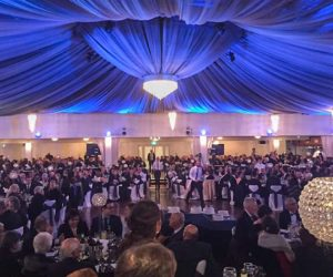 San Remo Ballroom filled with 700 guests at our 90th Anniversary of the Societa Isole Eolie