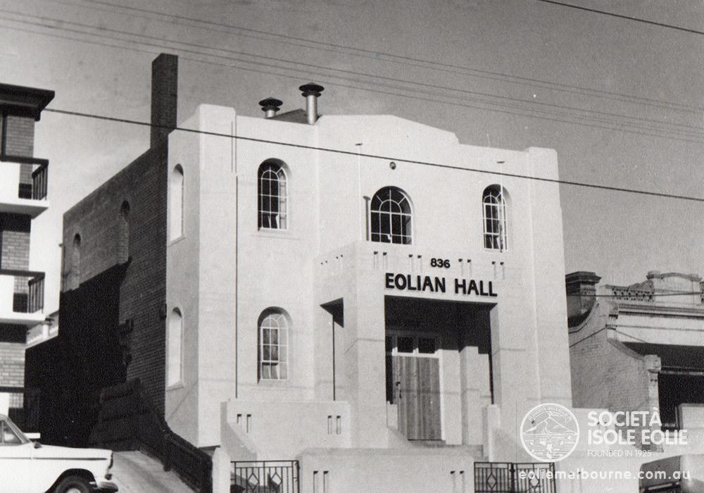 1969 Eolian Hall