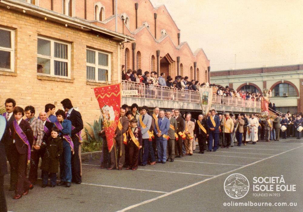 Aug 1978 San Bartolomeo Procession at St Anthony's Hawthorn.