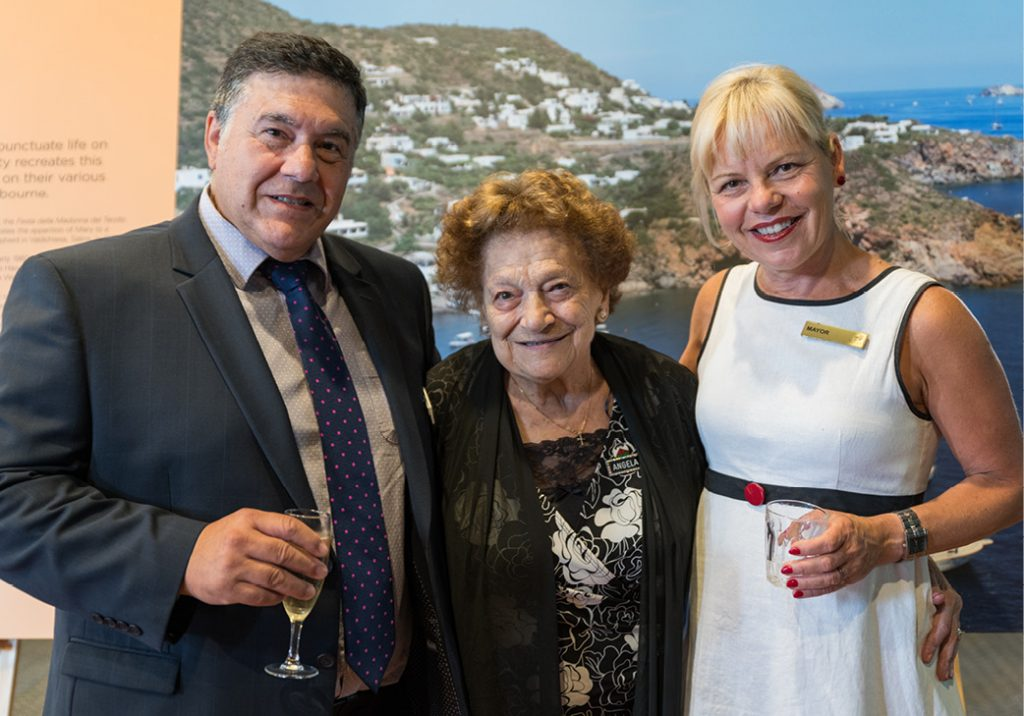 Welcome Reception for the Mayor of Lipari